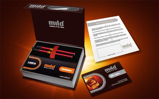 model Mild M201 Pen Cherry Line